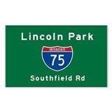 Lincoln Park 75 Decal