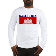 Cambodia Long Sleeve T-Shirt