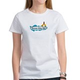 Ocean City NJ - Surf Design. Tee