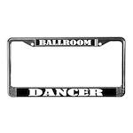Ballroom Dancer License Plate Frame