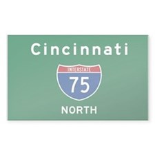 Cincinnati 75 Decal