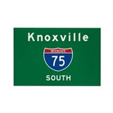 Knoxville 75 Rectangle Magnet