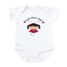 Ladybug First Birthday Infant Bodysuit