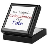 Coincidence/Fate Keepsake Box