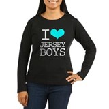 I Heart Jersey Boys Women's Long Sleeve T-Shirt