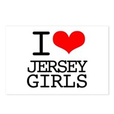 I Heart Jersey Girls Postcards (Package of 8)