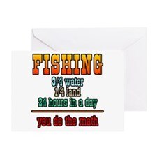 Fishing, You Do The Math Greeting Card