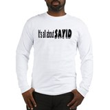 All About Sayid Long Sleeve T-Shirt