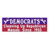 Liberal Progressive Dem Bumper Bumper Sticker