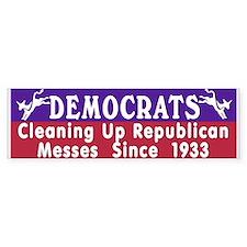 Liberal Progressive Dem Bumper Bumper Sticker