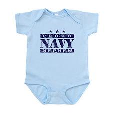 Proud Navy Nephew Infant Bodysuit