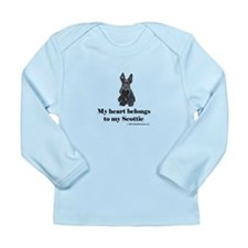 My Scottie Heart Long Sleeve Infant T-Shirt