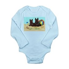 Life's a Beach Scottish Terri Long Sleeve Infant B