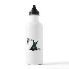 Celtic Scottish Terrier Water Bottle