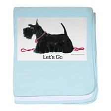 Scottie Let's Go! baby blanket