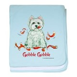 Westhighland Turkey Terrier baby blanket