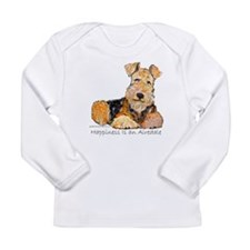 Airedale Happiness Long Sleeve Infant T-Shirt