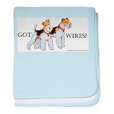 Got Wires? baby blanket