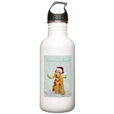 Lakeland Holiday Santa Water Bottle