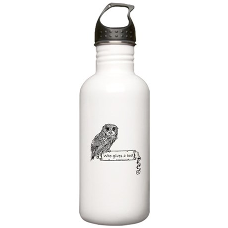 Who Gives a hoot Owl Stainless Water Bottle 1.0L