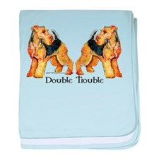 Welshie Double Trouble baby blanket