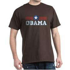 Obama Star Stripes T-Shirt