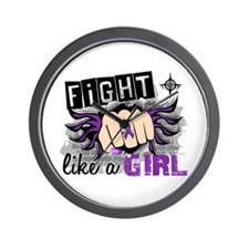 Fight Like A Girl Lupus Wall Clock