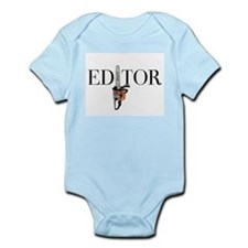 Editor—Chainsaw Infant Bodysuit