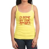 D Rose Answer Tank Top