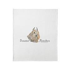 Bouvier Sweetie Throw Blanket
