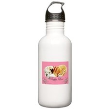 Puppy Love Bulldog Water Bottle