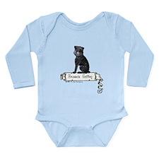 Brussels Griffon Banner Long Sleeve Infant Bodysui
