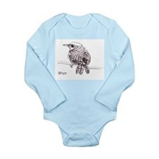 Wren Long Sleeve Infant Bodysuit