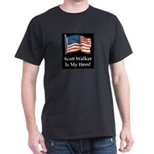 Scott Walker is my hero! T-Shirt