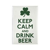 KEEP CALM Shamrock Rectangle Magnet (100 pack)