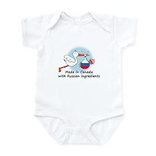 Stork Baby Russia Canada Onesie