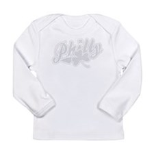 Philly Irish Shamrock Long Sleeve Infant T-Shirt