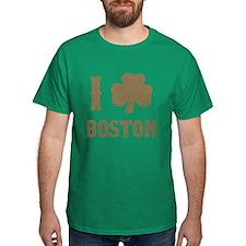 I Shamrock Boston T-Shirt