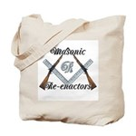 Masonic War Re-enactors Tote Bag