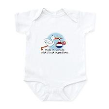 Stork Baby Netherlands Canada Onesie