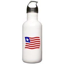 Liberia Flag 2 Water Bottle
