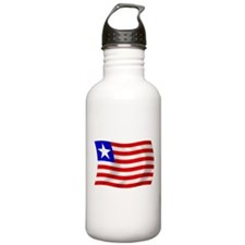 Liberia Flag Water Bottle