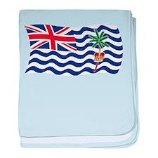British Indian Ocean Flag baby blanket