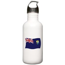 Saint Helena Flag Water Bottle