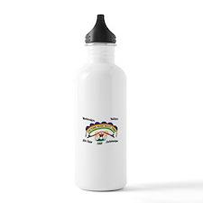 Cheyenne River Sioux Flag Water Bottle