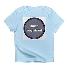 Sabr Required Infant T-Shirt (dark blue)