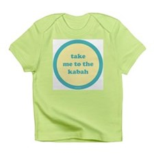 Kabah Infant T-Shirt (yellow + turquoise)
