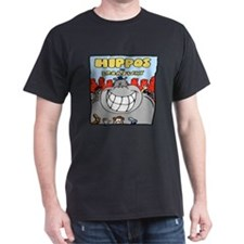 Hippos On Broadway T-Shirt