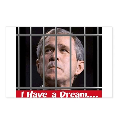 Impeach Bush Postcards (Package of 8)