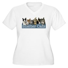 Cute Shelter cat T-Shirt
